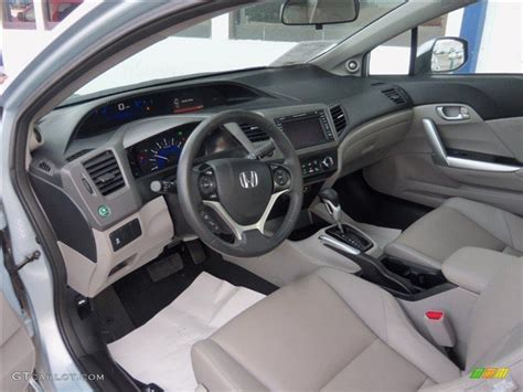 2012 honda civic ex l coupe interior photos gtcarlot