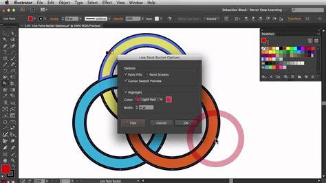 illustrator tutorial live paint adobe illustrator cc 2014 quot live paint bucket options quot nsl