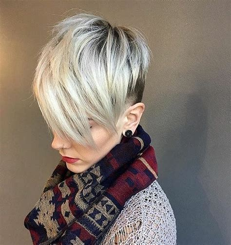 fab short hairstyles  texture color