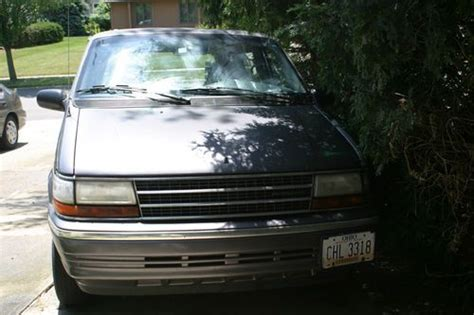 manual cars for sale 1993 plymouth voyager regenerative braking find new 1993 plymouth voyager 5 speed manual 103 000 miles runs well in westerville ohio