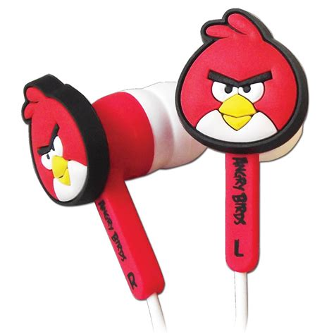 Angry Xl official angry birds bird ear buds phones set for nintendo dsi dsi xl 3ds