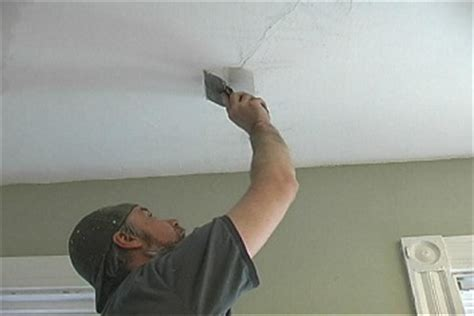 Fixing A In The Ceiling by How To Repair Ceiling Cracks Do You Need Professional Help