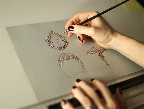 who makes jewelry best practices of illustration in jewellery designing