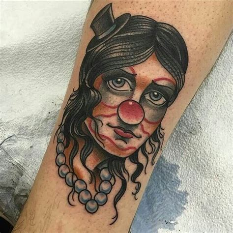 tattoo lady joker 27 clown tattoo designs ideas design trends premium