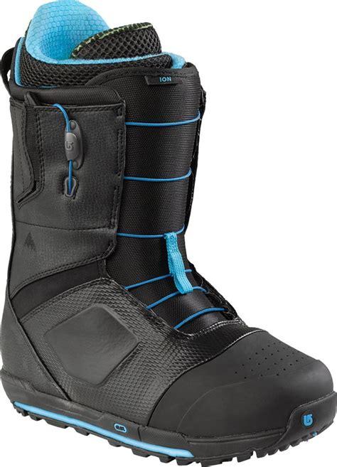 burton ion snowboard boots review snow magazine