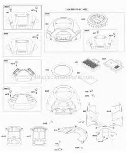 briggs and stratton 445777 0231 e1 parts list and diagram