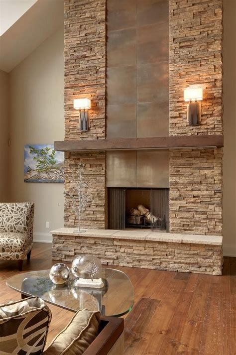 stacked fireplace ideas 25 best ideas about stacked fireplaces on