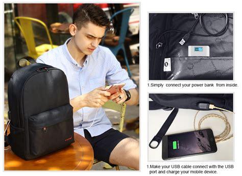 Hls Tigernu Tas Ransel Laptop Dengan Usb Charger tigernu tas ransel laptop dengan usb charger t b3249