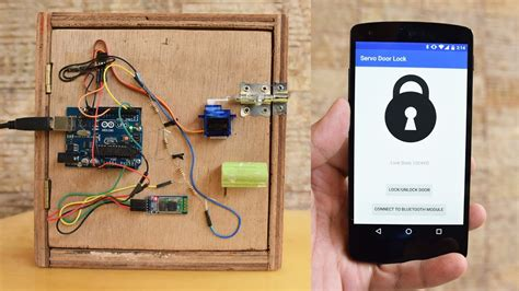 tutorial arduino bluetooth android bluetooth door the bean lock sc 1 st embedded lab