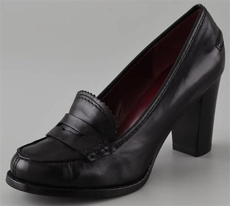 high heeled loafers new shoe trend high heeled loafers