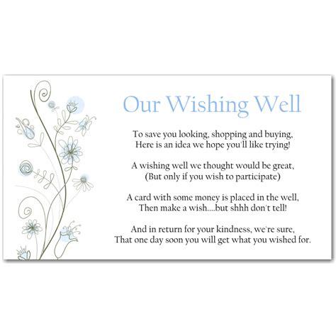 wedding wishing well wording wording for wedding invitations asking for money