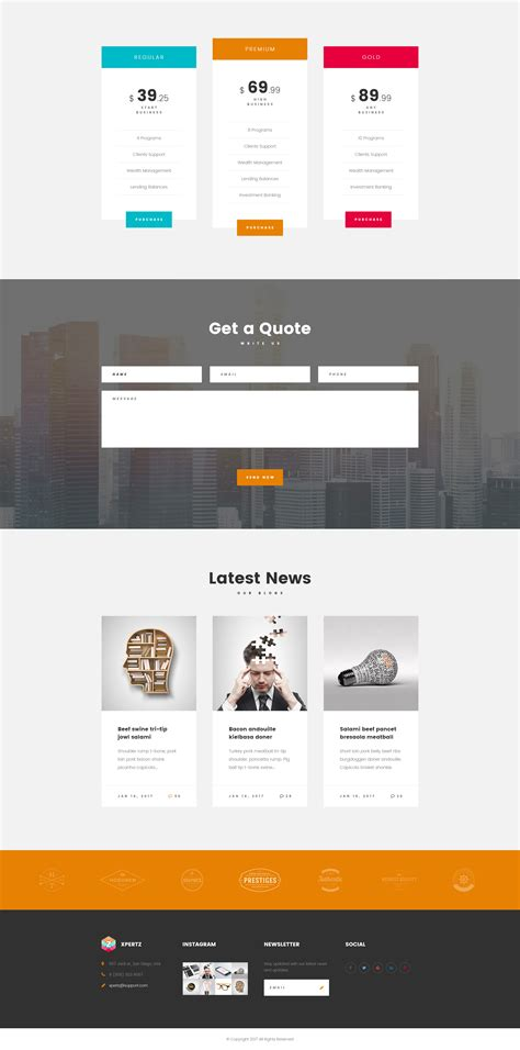 Xpertz Corporate Business Company Html Template With Builder And Dashboard Html Modern Web Html Template Builder
