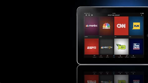 tv comcast xfinity tv customers can now up to 35 live tv channels on the go with xfinity