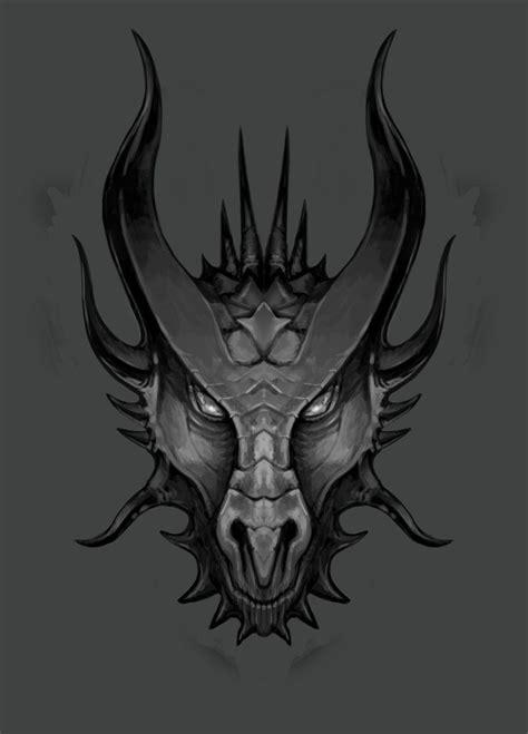 dragon head tattoo s sketch 02 by lawrencemann on deviantart