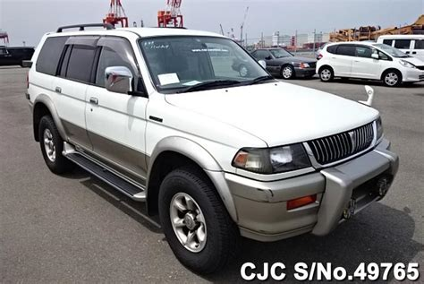 how it works cars 1997 mitsubishi challenger electronic toll 1997 mitsubishi challenger white 2 tone for sale stock