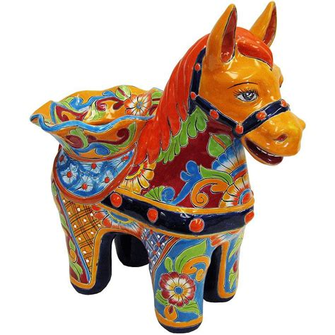Colored Kitchen Canisters talavera planters collection talavera pony planter tp200