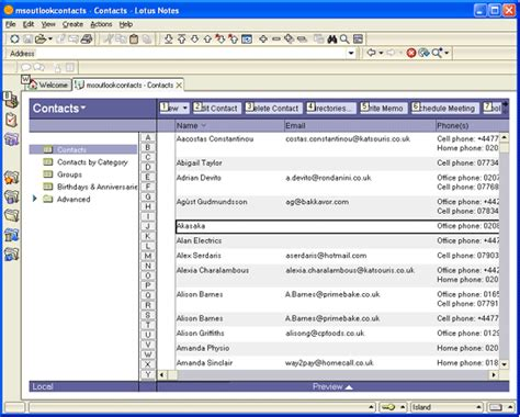 is lotus notes free how to import vcard into lotus notes convert vcf to