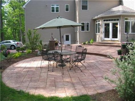 Concrete Patio Designs Layouts by New Website Concretepatio Org Features Patio Shape And