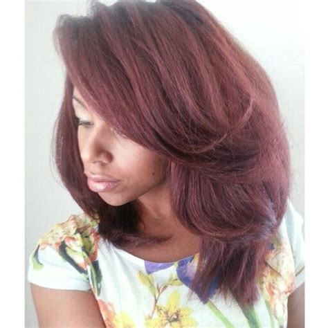 demi color for american hair straight hair with ion demi permanent light burgundy