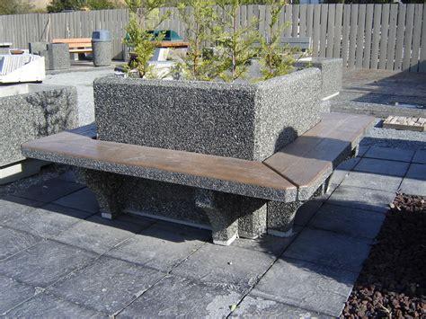 precast benches square planter w seating exposed aggregate planter