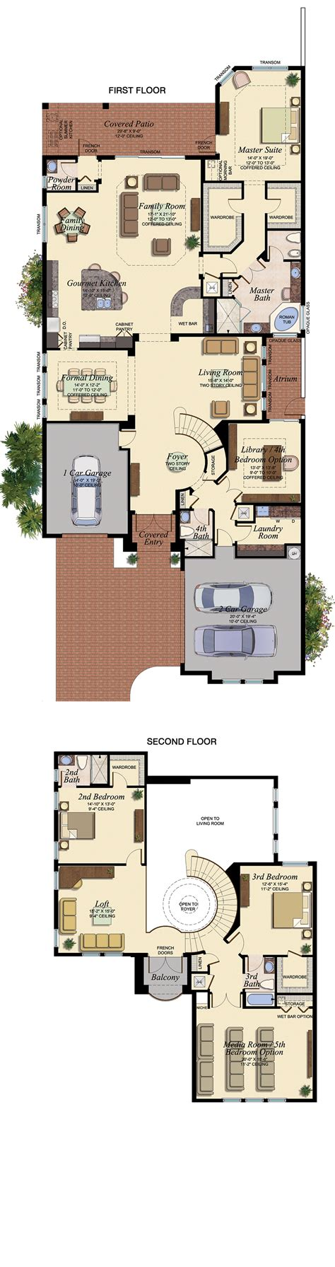 vizcaya floor plan glhomes vizcaya at seven bridges
