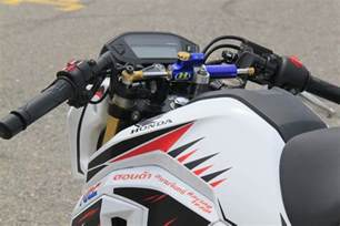 Honda Racing Parts New Honda Grom Msx125sf Race Bike Built By Hrc Osaka