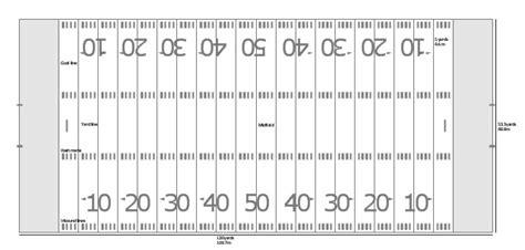 blank football field template microsoft football flyer templates templates resume