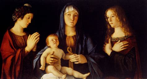 arie da bellini and child with st catherine and magdalene c