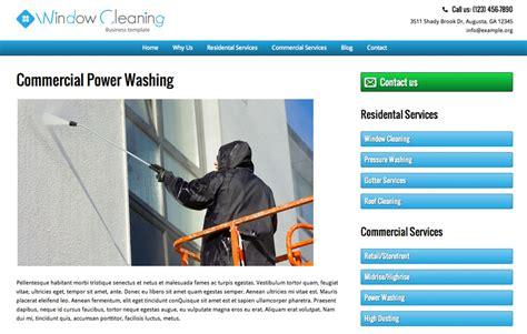 window cleaning wordpress theme premium website template
