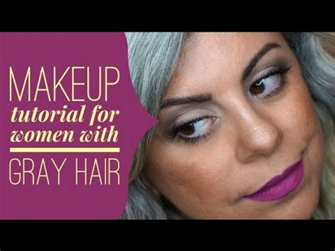 makeup salt and pepper hair makeup salt and pepper hair cool makeup for gray hair how to properly dye your hair gray or