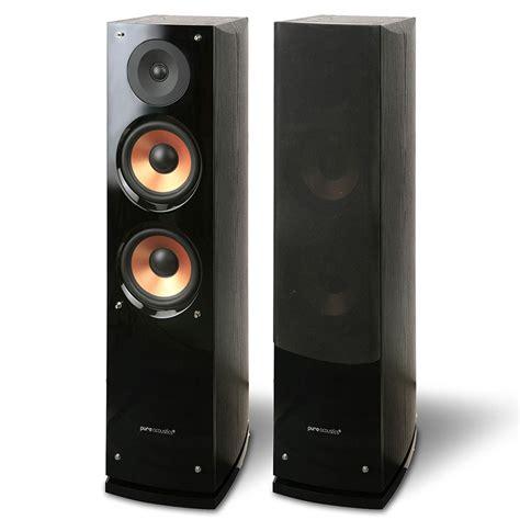 pure acoustics  supernova floor standing speaker pair