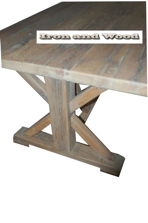 oude landelijke len wagondelen salontafel