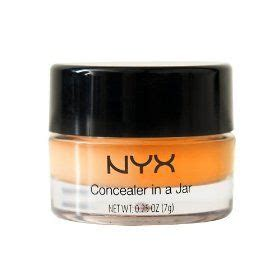 nyx concealer in a jar orange and yellow review aah may zing covers dark circles like a ch nyx