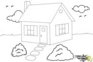 how to draw houses how to draw a house step by step drawingnow