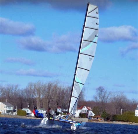 catamaran a vendre au quebec essai r 233 ussi de l espadon le premier catamaran sur foils
