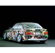 1992 BMW 3 Series Touring Art Car By Sandro Chia  Rear