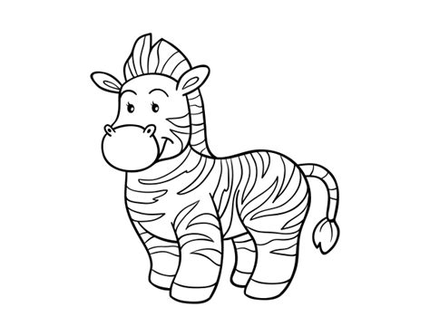 dibujos infantiles cebra dibujo de la cebra para colorear dibujos net