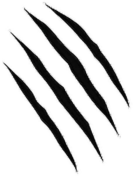 sticker png garras rasgu 241 os hashtag blackfreetoedit