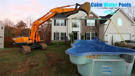 Fiberglass Pool Contractors Near Me Youtube