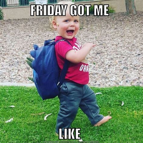 Funny Tgif Memes - 25 best ideas about friday meme on pinterest its friday