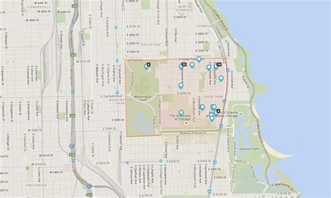 hyde park chicago map living in hyde park chicago a college town on the lake