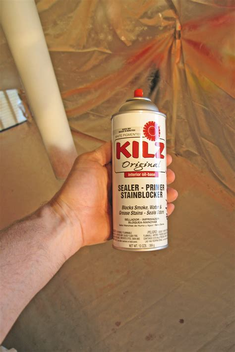 Spray To Cover Water Stains On Ceiling by Kilz Spray Paint