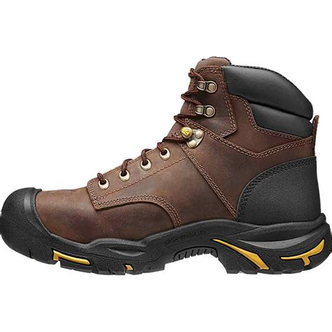 keen work boots for keen mt vernon steel toe 6 inch wp work boot 1013258