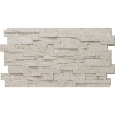 Home Depot Veneer by Urestone Stacked 50 Antique White 24 In X 48 In