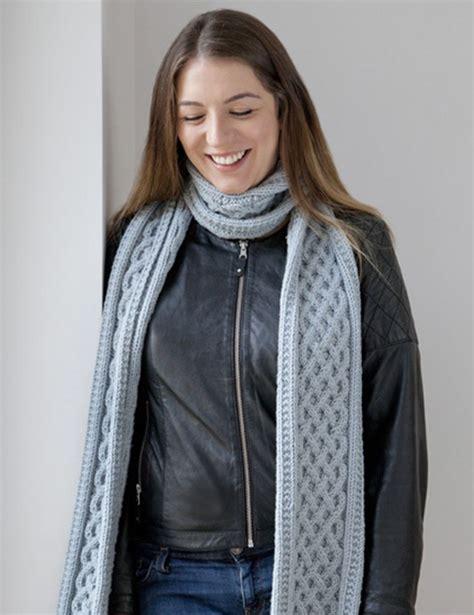 knitting pattern chunky yarn cable knit chunky yarn scarf knitting pattern free