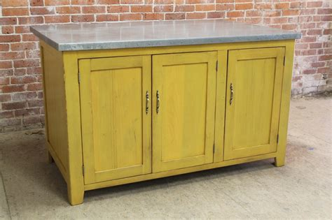 zinc kitchen island on sale lake and mountain home