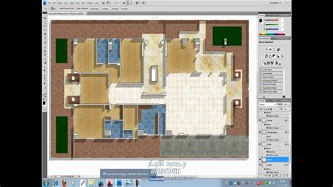 Rendered Floor Plans transfer from autocad to adobe amp render architecture plan