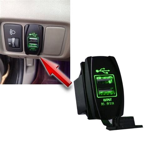 Charger Roker 2 1 Ere For Iphone 5 6 7 china carling style rocker switch usb car charger for