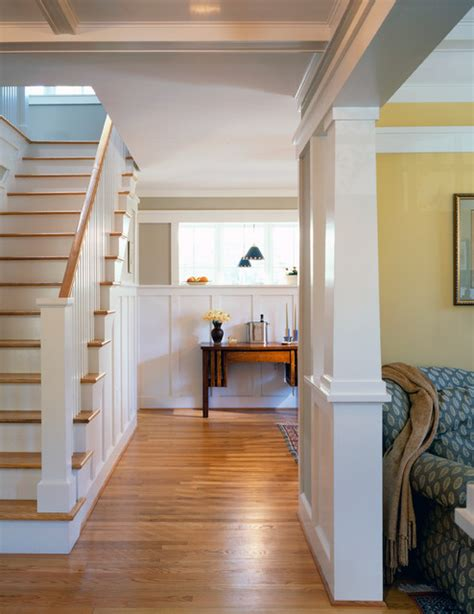 Bungalow Stairs Design Arlington Bungalow Craftsman Entry Dc Metro By Architects Pc