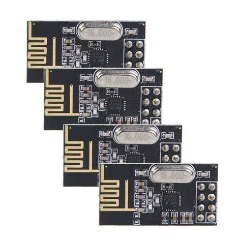Nrf24l01 24ghz Antenna Wireless Transceiver Module For Arduino Micro 2x 4pcs nrf24l01 2 4ghz antenna wireless transceiver